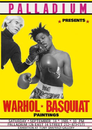 Warhol & Basquiat 'Knockout'